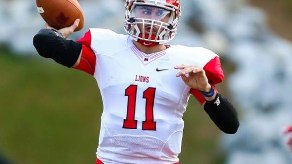 East Mississippi Community College quarterback Chad Kelly