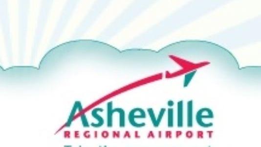 Asheville Regional Airport logo.