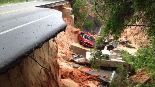 Scenic Highway collapse