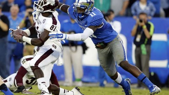 Mississippi State freshman wide receiver Jamoral Graham is suspended for the Orange Bowl due to violation of team rules.