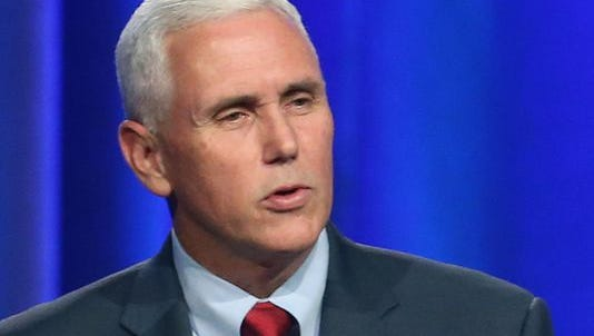 A proposal from state Sen. Mike Delph, R-Carmel, would let Ind. Gov. Mike Pence seek the White House in 2016 without having to give up his governor's seat.