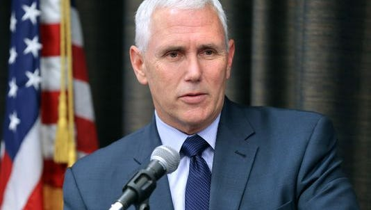 """Gov. Mike Pence is calling a measure that would allow him to seek the White House and the governor's office in 2016 """"a well-intentioned distraction""""."""