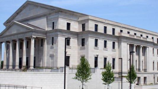 Mississippi Supreme Court building in Jackson.