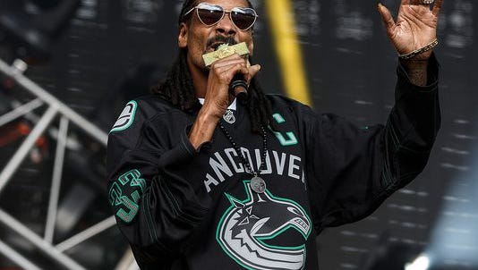 Snoop Dogg, performing at the Pemberton Music and Arts Festival in July, welcomes his first grandson. Zion.