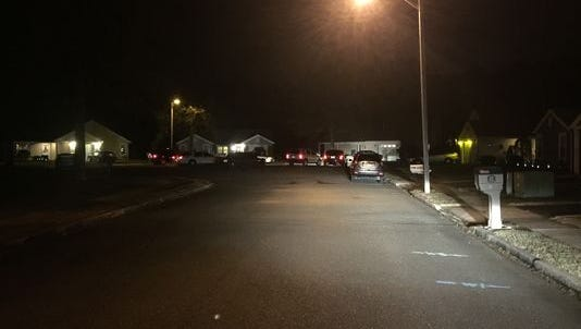 Police are investigating a crime scene involving a couple in their 90s.