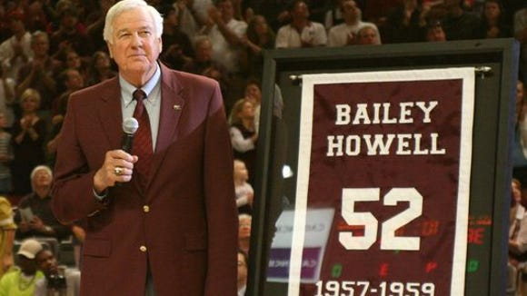 Former Mississippi State basketball great Bailey Howell