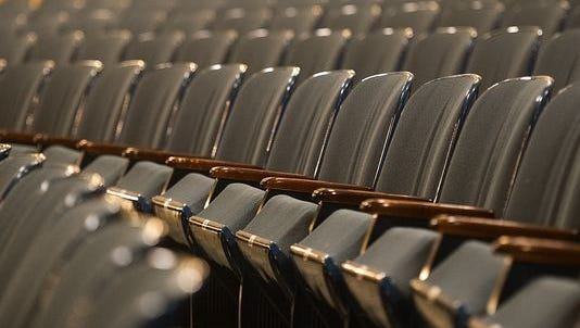 Paramount Theatre is getting new seats.