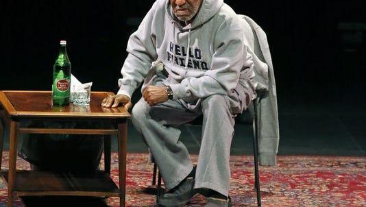 Bill Cosby in performance in Denver Jan. 17.