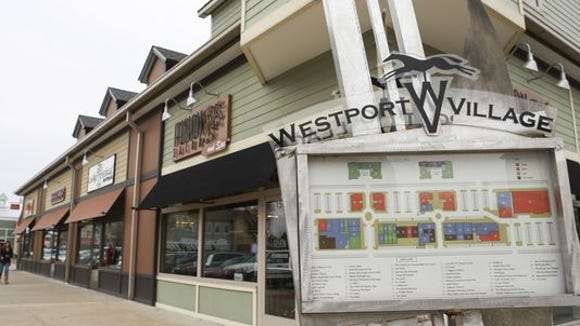 A store map at Westport Village on Friday may have some changes if a current lawsuit between tenants and the property owner cannot be resolved.