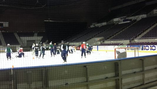 Ice Flyers reflect lack of practice time with fifth straight loss.