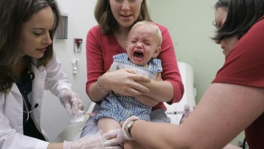 Local schools are considered to be not at risk of a measles outbreak.