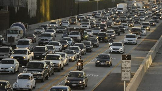 There are 250 million motor vehicles on American roads.