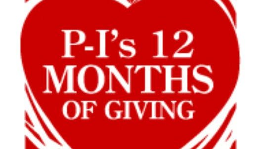12 Months of Giving.