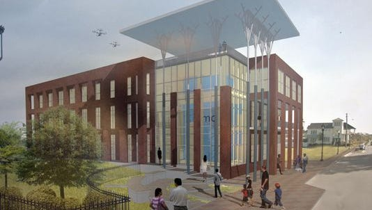 The new 30,000-square-foot expansion of the  Institute for Human and Machine Cognition.