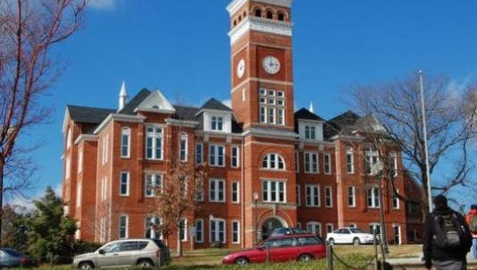 Tillman Hall is the centerpiece building at Clemson and its iconic bell tower is recognized by the Clemson community as one of the symbols of the school.