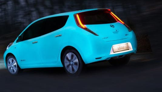 Nissan's glow-in-the-dark car