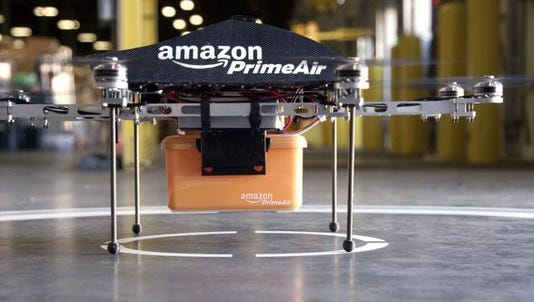 FAA's rules would not allow Amazon's drone delivery in the USA.