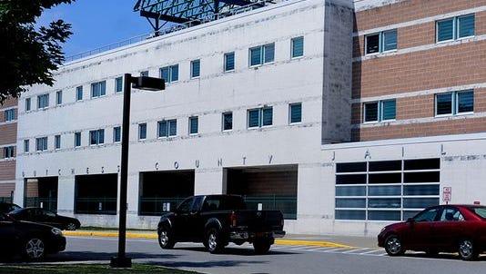 The Dutchess County Jail on North Hamilton Street in Poughkeepsi