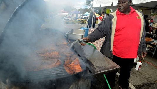 The sixth annual Smokin' In The Square BBQ Cookoff will be Friday and Saturday in Seville Square.