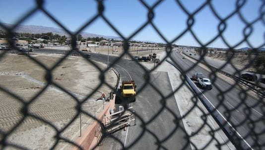 The new Interstate 10 on-ramp at Monterey Avenue is closed 9 a.m. to 2 p.m. Thursday for emergency pavement repairs.