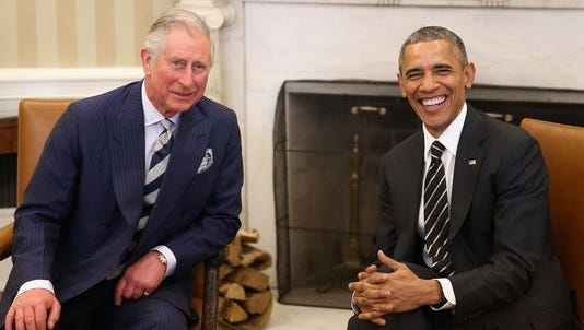 Prince Charles met with President Obama in the Oval Office Thursday. Louisville is the next royal stop of a U.S. visit.