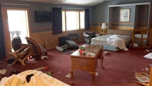 The damage sustained Jan. 17-18, 2015, at the Inn at Treetops Resort outside Gaylord in northern Michigan had serious consequences for a University of Michigan fraternity and sorority.