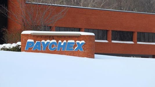 The Penfield-based firm Paychex.