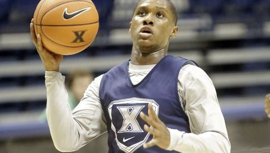 Sophomore Brandon Randolph has decided to transfer from Xavier after two seasons. His departure leaves a second open scholarship.