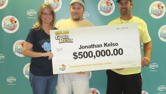 Jonathan Kelso wins $500,000.