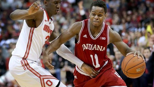 IU guard Yogi Ferrell has yet to announce his plans for the 2015-16 season.