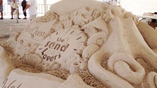 The Santa Rosa County Tourist Development Office is requesting $80,000 this year to fund the sixth annual Navarre Beach Sand Sculpting Festival.