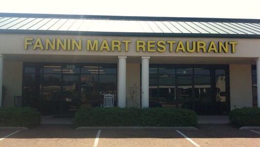 Steve Page's Fannin Mart Restaurant recently closed.