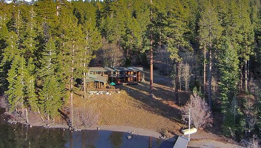 Tallac House at Lake Tahoe is for sale.