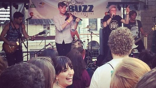 Class of 2013 incubator band, Shatterproof performs at the CO Music Party in SXSW