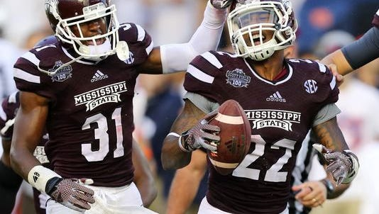 Former Mississippi State linebacker Matt Wells was selected by the Patriots on Saturday.