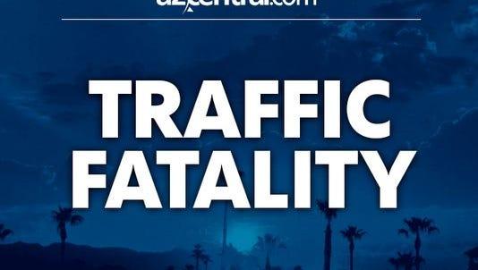 Traffic fatality.
