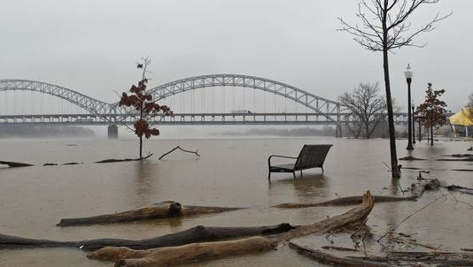 Recent flooding.