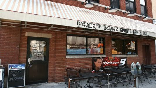 The Front Page Sports Bar in Downtown Indianapolis will close its doors in July.