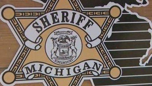 Michigan sheriff's department logo.