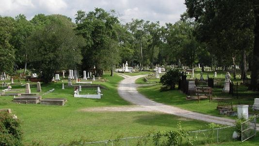 Rapides Cemetery, located on Main Street in Pineville, will host the Spring Stroll Through The Cemetery from 3 to 5 p.m. Saturday as a fundraiser to help preserve the cemetery. Re-enactors will portray some of the cemetery's famous inhabitants.