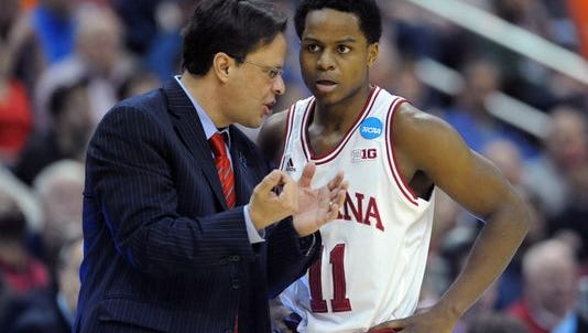 On the court, Indiana guard Yogi Ferrell (right) and the Hoosiers shouldn't have to do much to feed the buzz surrounding head coach Tom Crean's team.