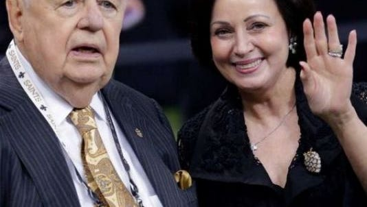 Tom and Gayle Benson