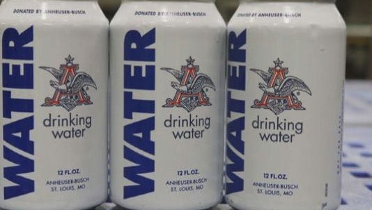 The Anheuser-Busch plant in Cartersville, Ga., is stopping production to help those impacted by the flooding.