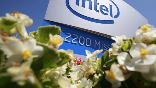 The exterior of Intel Corp. headquarters is in Santa Clara, Calif., in 2010.