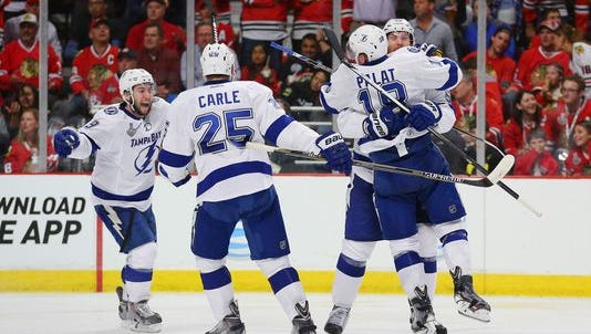 The Tampa Bay Lightning outlasted the Chicago Blackhawks for a 3-2 Game 3 win.