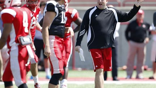 Chuck Martin and the RedHawks kick off the season at 3:30 p.m. Sept. 5 against Presbyterian at Yager Stadium.