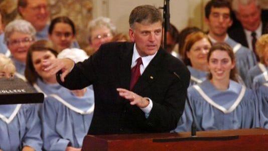 Franklin Graham in 2007.