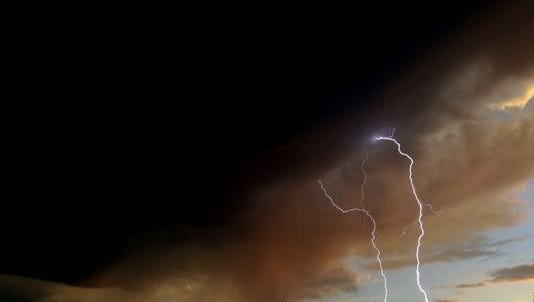 Larimer County is under a thunderstorm warning until 10 p.m. tonight.