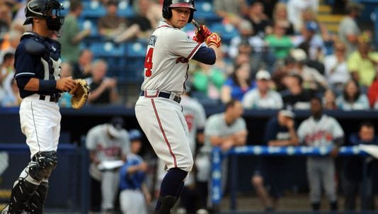 Roberson alum Braxton Davidson is an outfielder for the Rome (Ga.) Braves.
