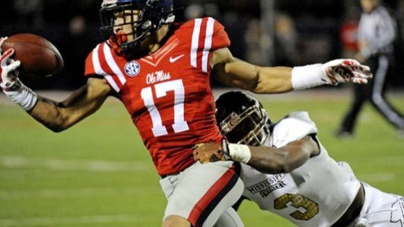 Ole Miss tight end Evan Engram was ranked as the best